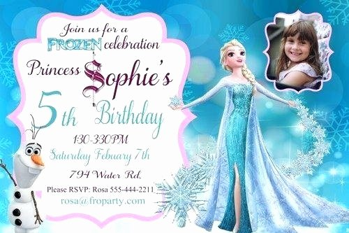 Free Frozen Invitations Template Inspirational Frozen Editable Birthday Invitation Cards Templates