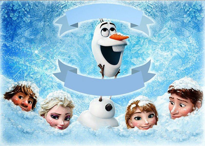 Free Frozen Invite Template Beautiful Free Printable Invitation Free Frozen Snowman Card