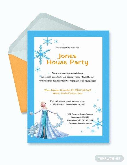 Free Frozen Invite Template Best Of 13 Frozen Invitation Templates Word Psd Ai