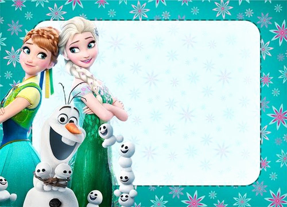 Free Frozen Invite Template Elegant Frozen Free Printable Invitation Templates