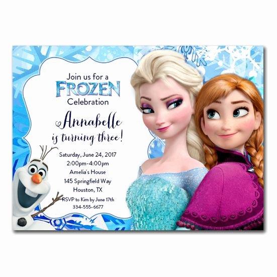 Free Frozen Invite Template Luxury Best 25 Free Frozen Invitations Ideas On Pinterest