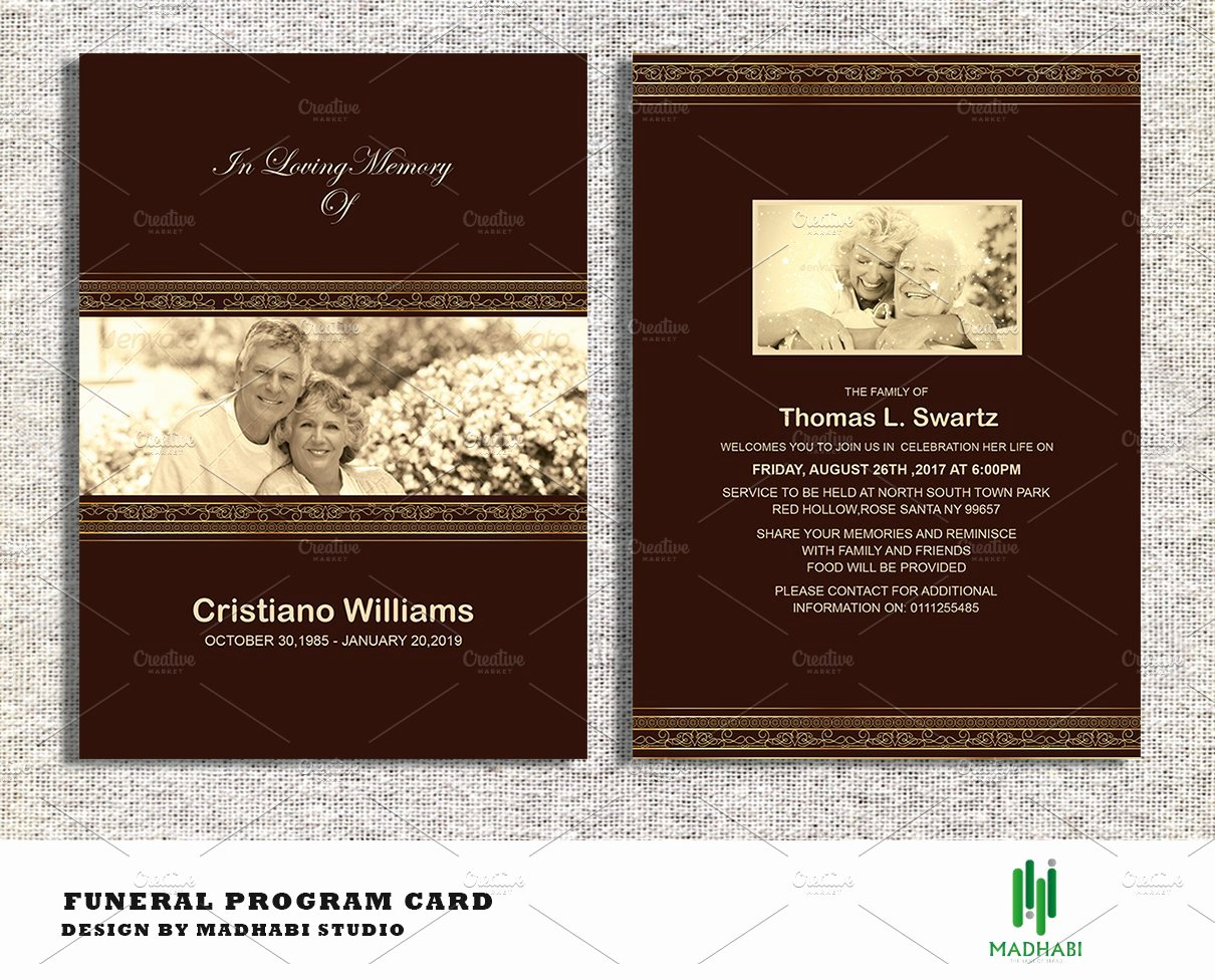 Free Funeral Announcement Template Awesome Funeral Announcement or Invitation Invitation Templates