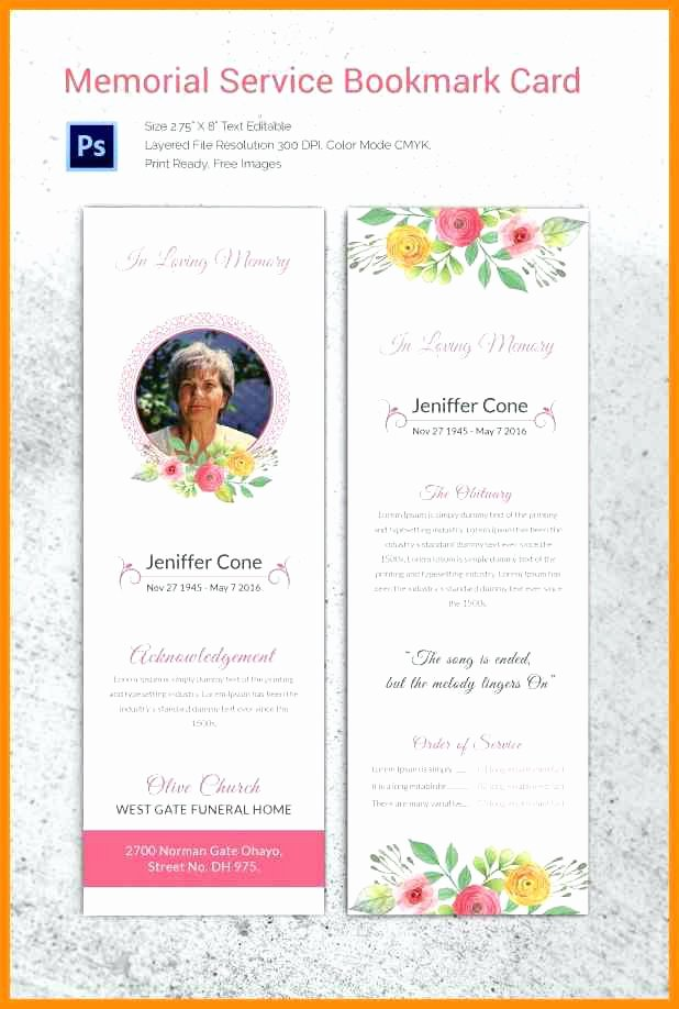 Free Funeral Card Template Luxury Funeral Service Invitation Templates Memorial Luxury