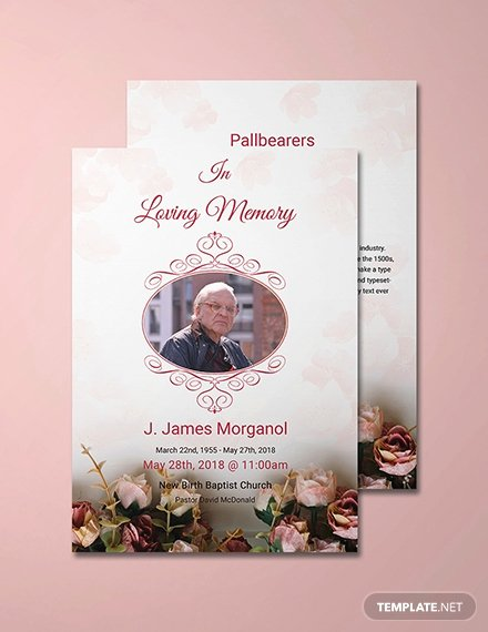 Free Funeral Invitation Template Beautiful Free Simple Funeral Invitation Template Download 513