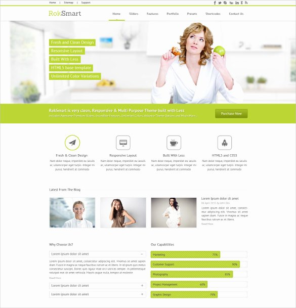 Free Google Sites Template Inspirational 27 Google Website themes & Templates