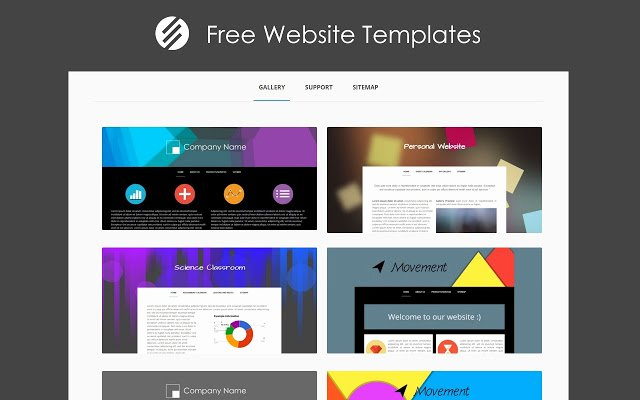 Free Google Sites Template Unique Free Website Templates Chrome Web Store