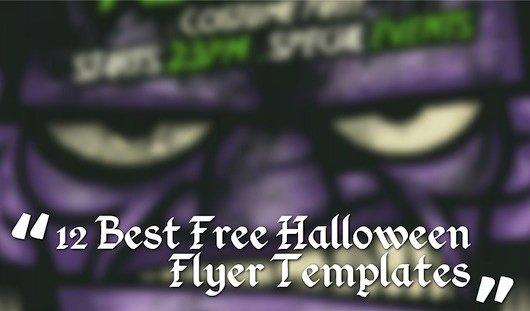 Free Halloween Flyer Template Beautiful 12 Best Free Halloween Flyer Templates thedesignblitz