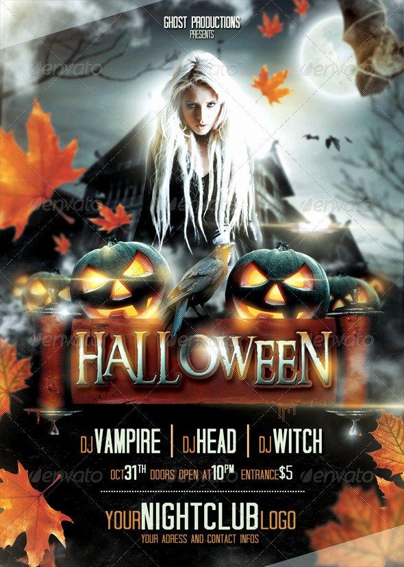 Free Halloween Flyer Template Beautiful 60 Premium & Free Psd Halloween Flyer Templates