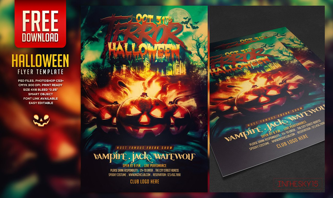 Free Halloween Flyer Template Beautiful Free Halloween Flyer Template by Ranvx54 On Deviantart