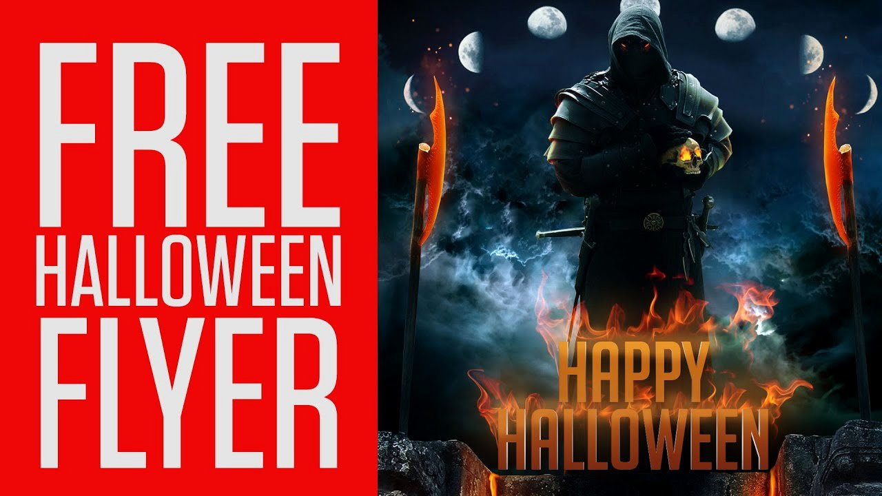 Free Halloween Flyer Template Beautiful Tap