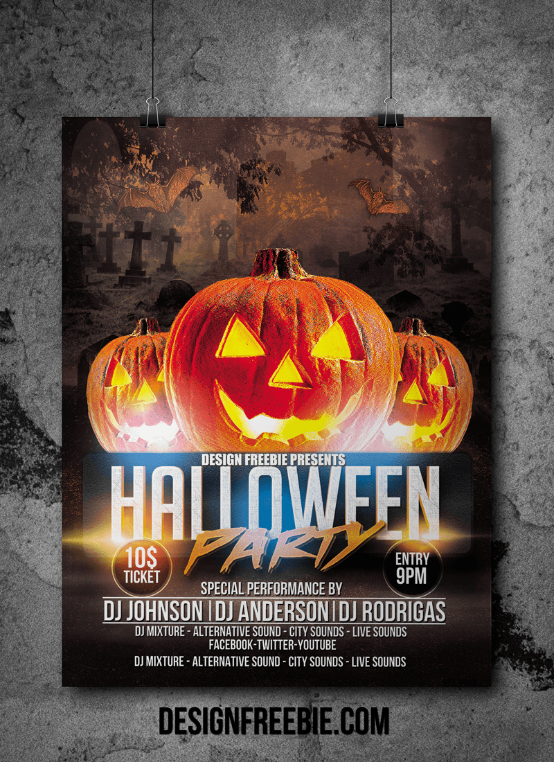 Free Halloween Flyer Template Best Of Download This Free Halloween Party Flyer Template