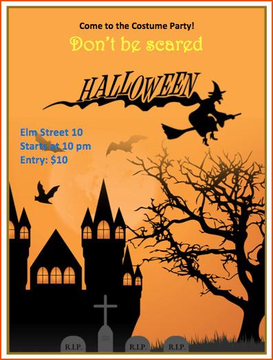 Free Halloween Flyer Template New 7 Halloween Flyer Templates Bookletemplate