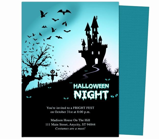 Free Halloween Invitation Template Beautiful Halloween Invitation Template Editable – Festival Collections