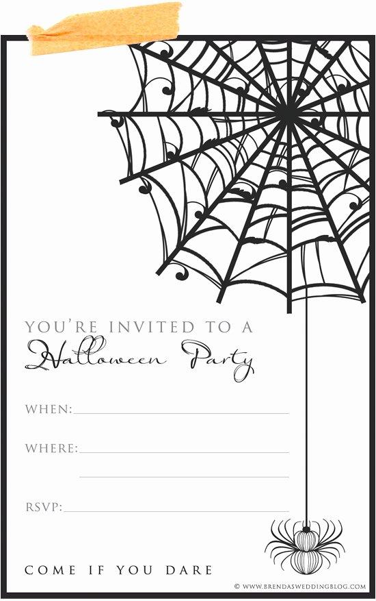 Free Halloween Invitation Template Inspirational Free Printable Halloween Invitations Templates – Festival