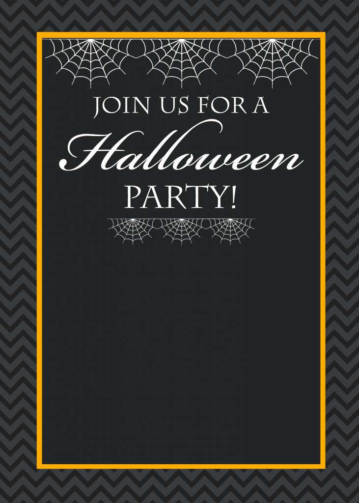 Free Halloween Invitation Template Inspirational Free Printable Halloween Party Invitations Yellow Bliss Road
