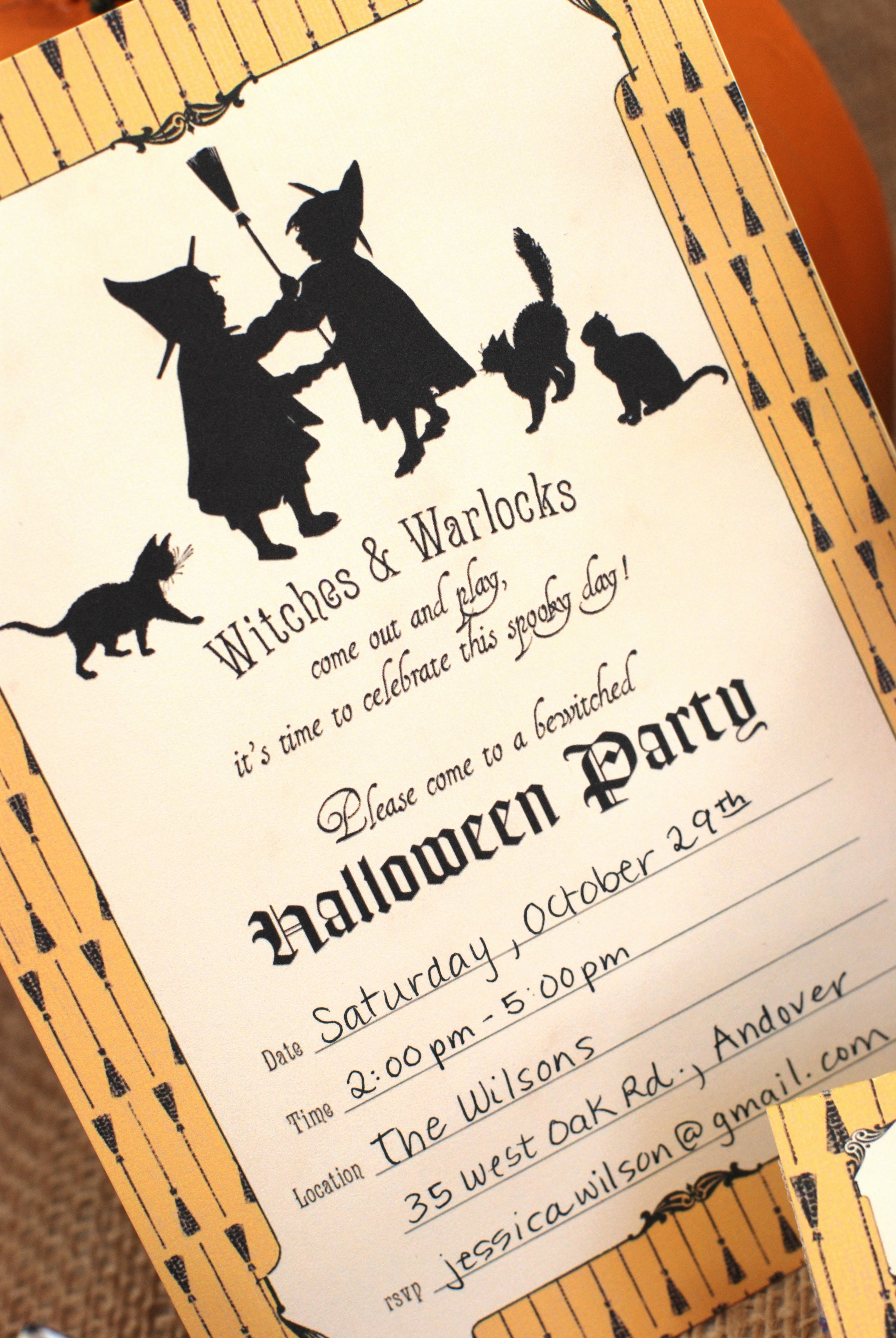 Free Halloween Invitation Template Luxury Fun and Facts with Kids Halloween Free Printables