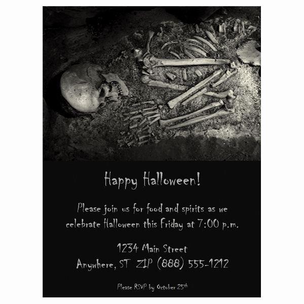 Free Halloween Invitation Template Luxury Halloween Wedding Invitations Free Templates & Fun Ideas