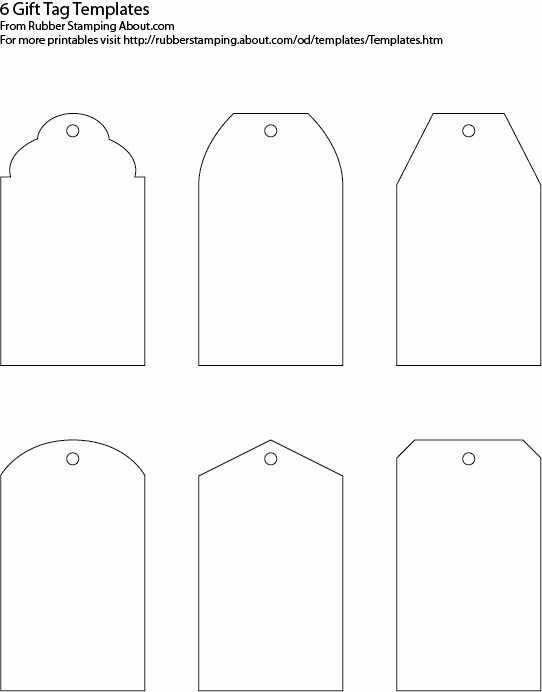 Free Hang Tag Template New Gift Tag Templates On Pinterest