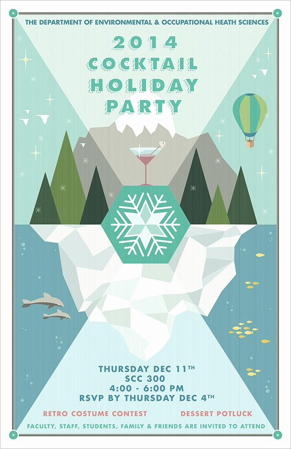 Free Holiday Flyer Template Elegant 27 Holiday Party Flyer Templates Psd