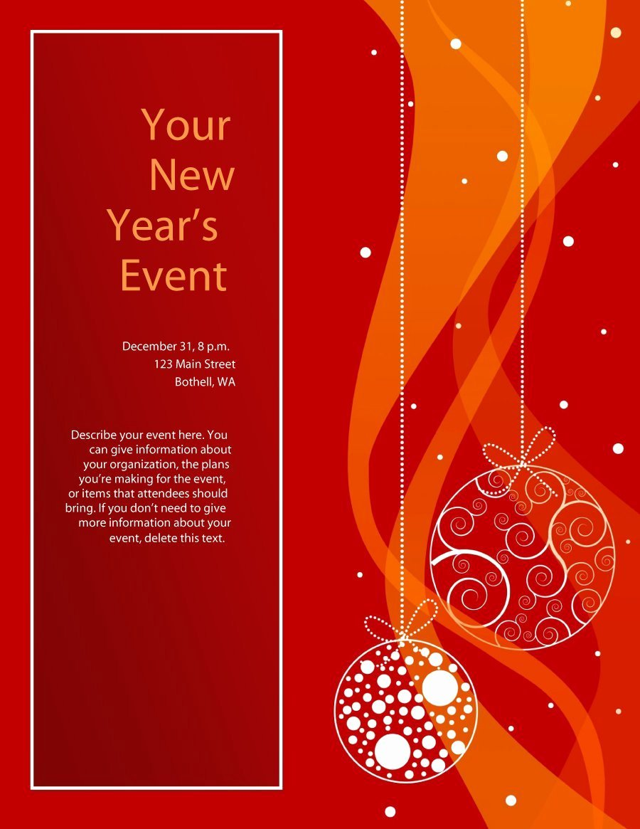 Free Holiday Flyer Template Fresh 41 Amazing Free Flyer Templates [event Party Business