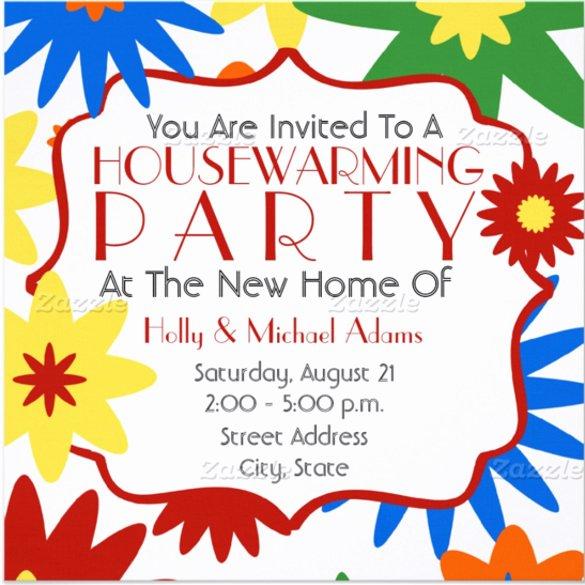 Free Housewarming Invitation Template Beautiful 23 Housewarming Invitation Templates Psd Ai