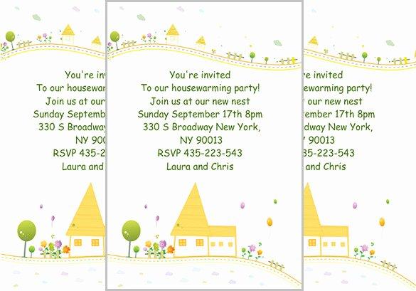 Free Housewarming Invitation Template Fresh 35 Housewarming Invitation Templates Psd Vector Eps