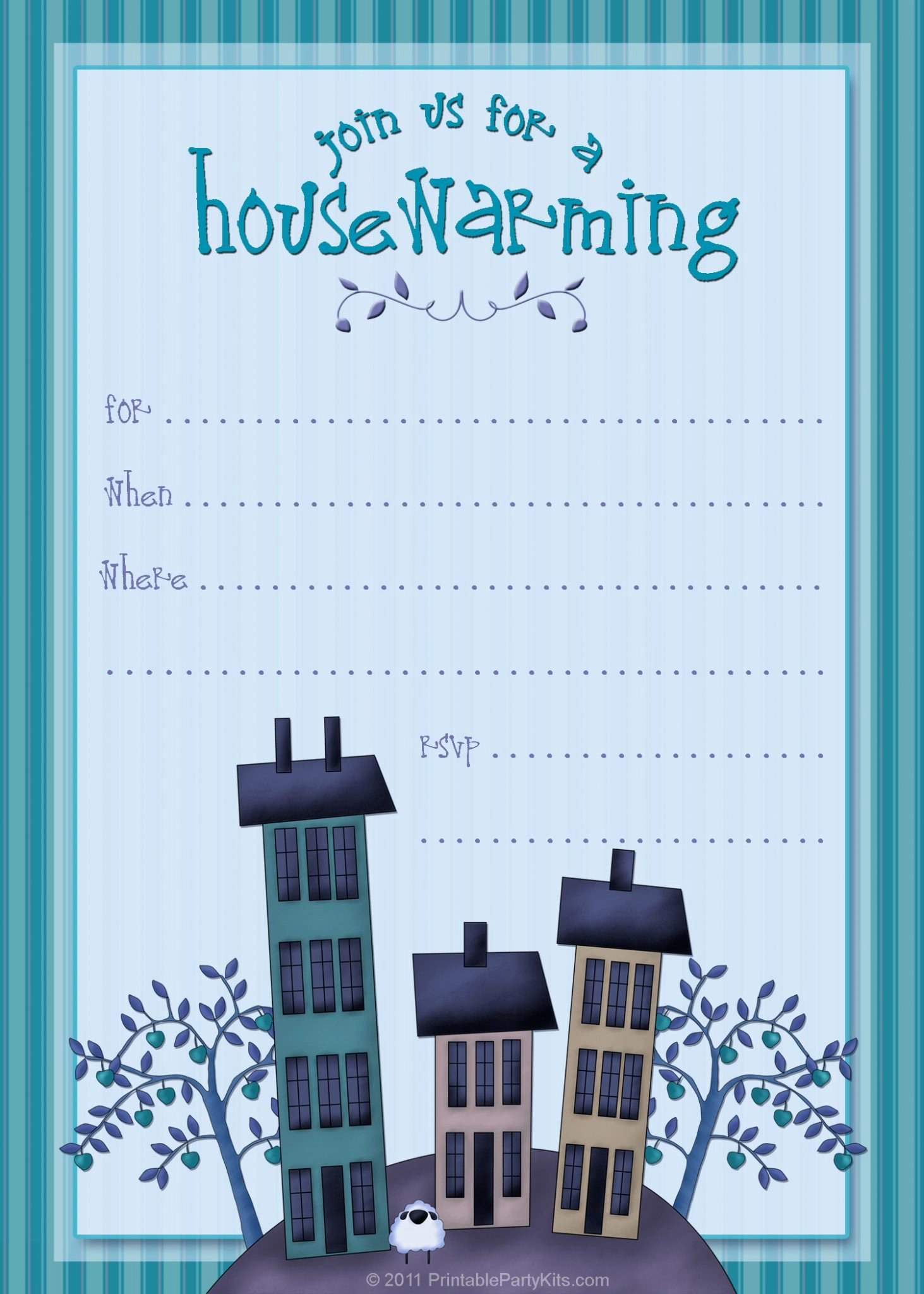 Free Housewarming Invitation Template Lovely Free Printable Housewarming Party Invitations Printable