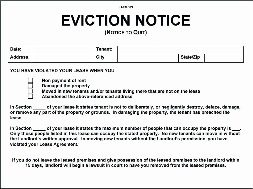 Free Illinois Will Template New Day Eviction Notice form Inspirational 3 Template Thirty 5