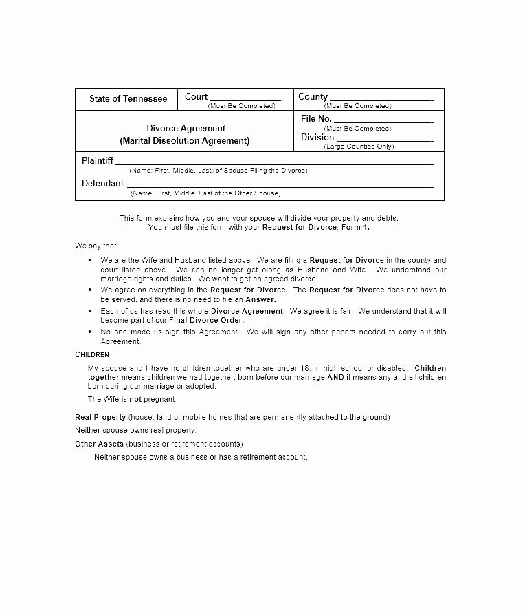 Free Illinois Will Template New Free Printable Divorce Papers for Illinois – Entrerocks