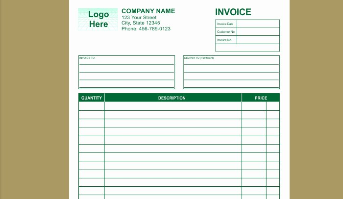 Free Indesign Invoice Template Beautiful 9 Best Of Rent Receipt Template Indesign Cash