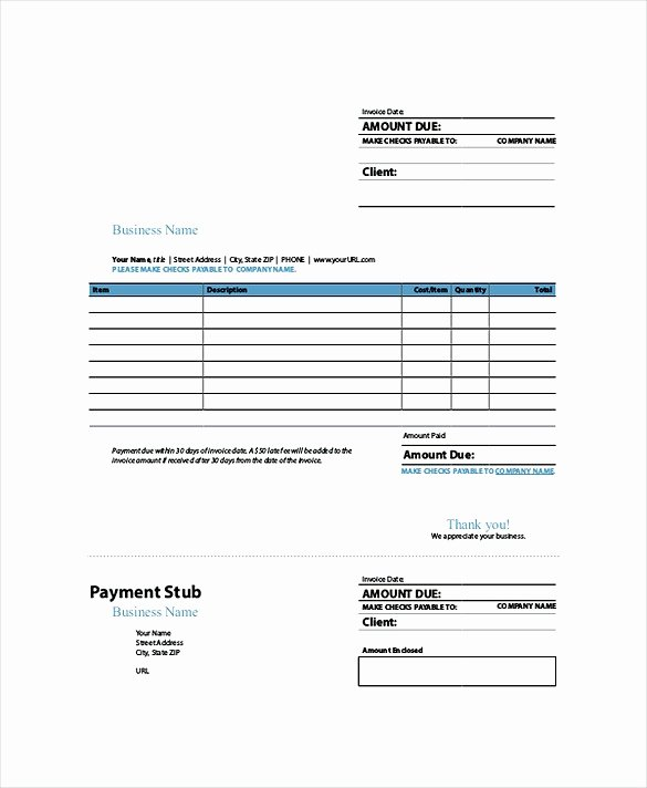 Free Indesign Invoice Template Elegant Indesign Invoice Template
