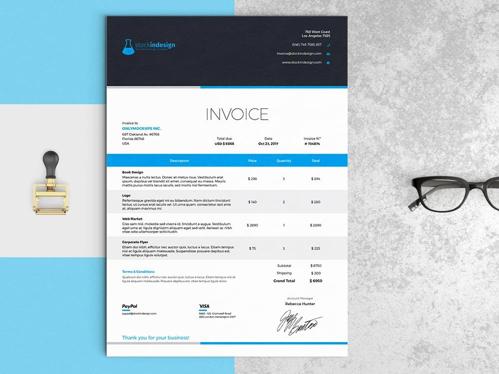 Free Indesign Invoice Template Fresh Elegant Invoice Template Indesign Template