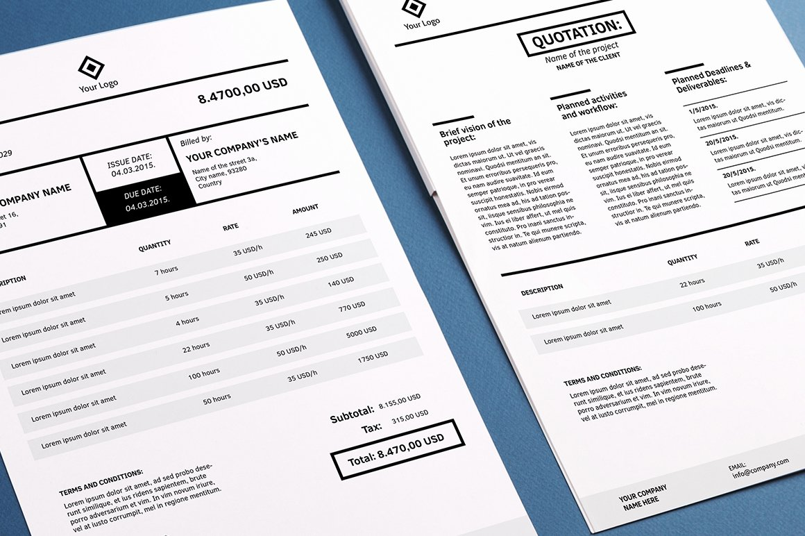 Free Indesign Invoice Template Inspirational Invoicing Template Indesign Stationery Templates On