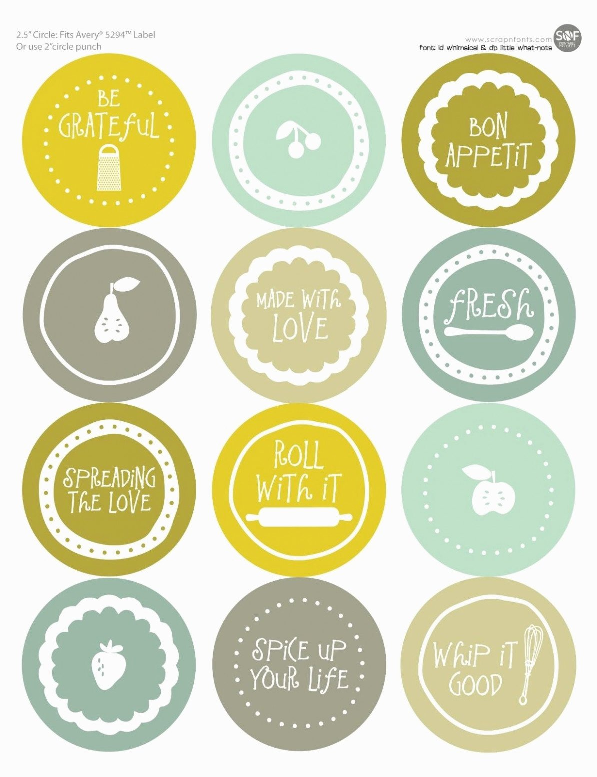 Free Jar Label Template Best Of Five solid Evidences attending