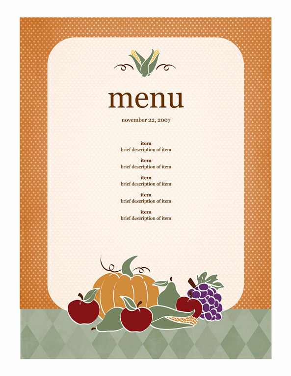 Free Kids Menu Template Best Of Menu Template Word