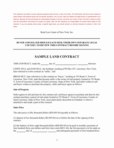Free Land Contract Template Fresh Land Contract Template Free Download Create Edit Fill