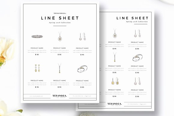 Free Line Sheet Template Best Of Line Sheet Template Retail Line Sheet Template Templates