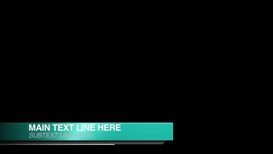 "Free Lower Third Template Awesome ""smooth Shine"" Free Lower Thirds after Effects Template"