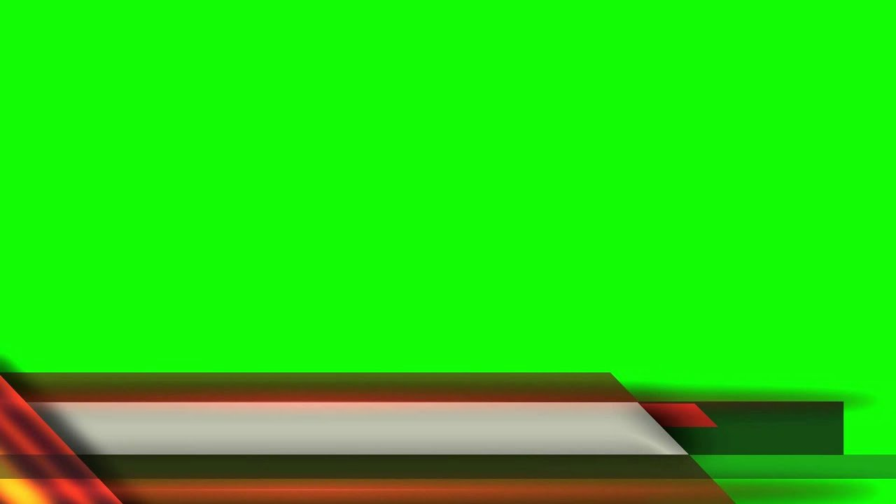 Free Lower Third Template New Free News Etc Lower Third Green Screen Mega Pilation