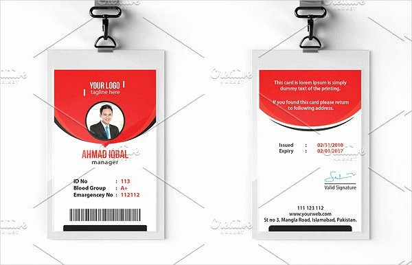 Free Membership Card Template Beautiful 29 Customizable Id Card Templates Free & Premium Download