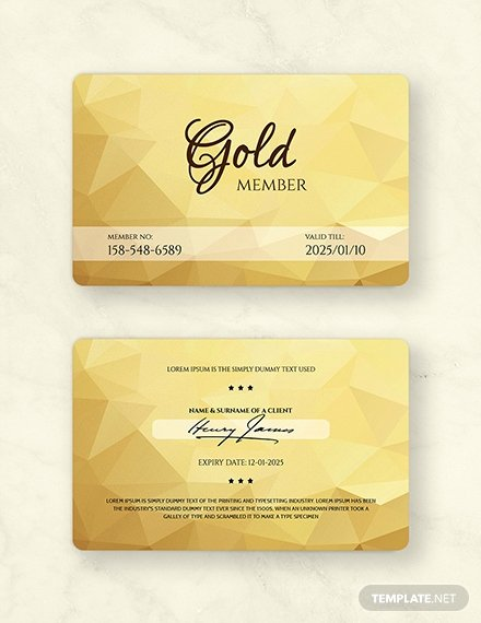 Free Membership Card Template Elegant Free Floral Wedding Place Card Template Download 128