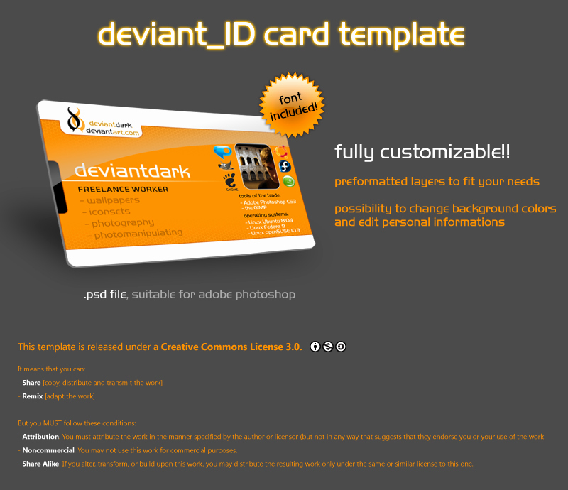 Free Membership Card Template Lovely Deviant Id Card Template by Deviantdark On Deviantart