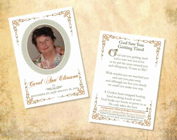 Free Memorial Cards Template Best Of Beautiful Prayer Cards Celtic Design