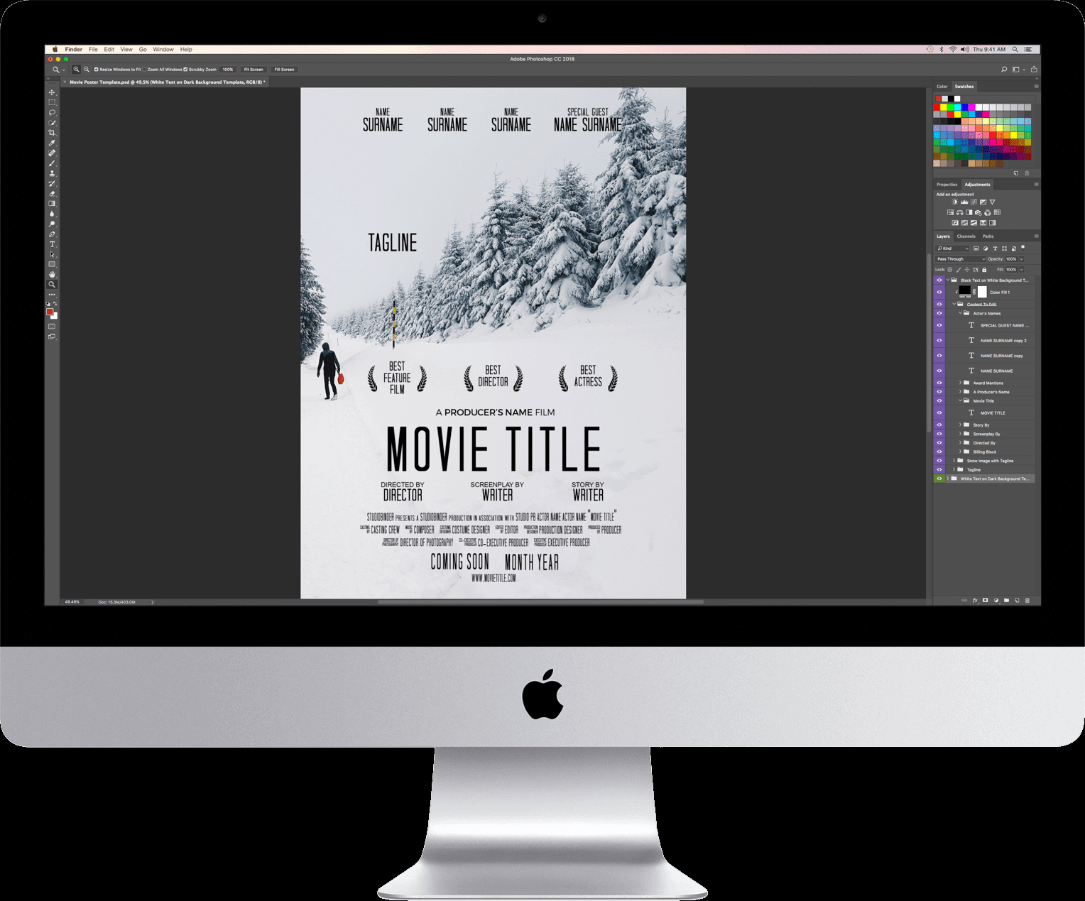 Free Movie Poster Template Luxury Download Your Free Movie Poster Template for Shop
