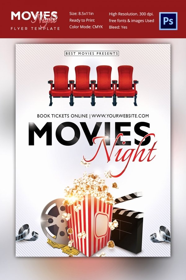 Free Movie Poster Template Luxury Movie Poster Templates – 44 Free Psd format Download