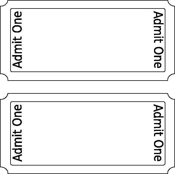 Free Movie Ticket Template Best Of Movie Ticket Clip Art at Clker Vector Clip Art