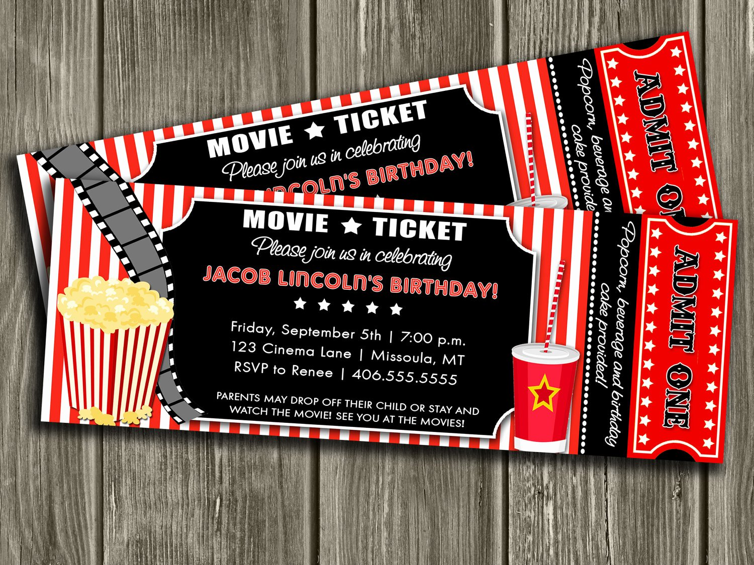 Free Movie Ticket Template Best Of Template Movie Ticket Invitation Template
