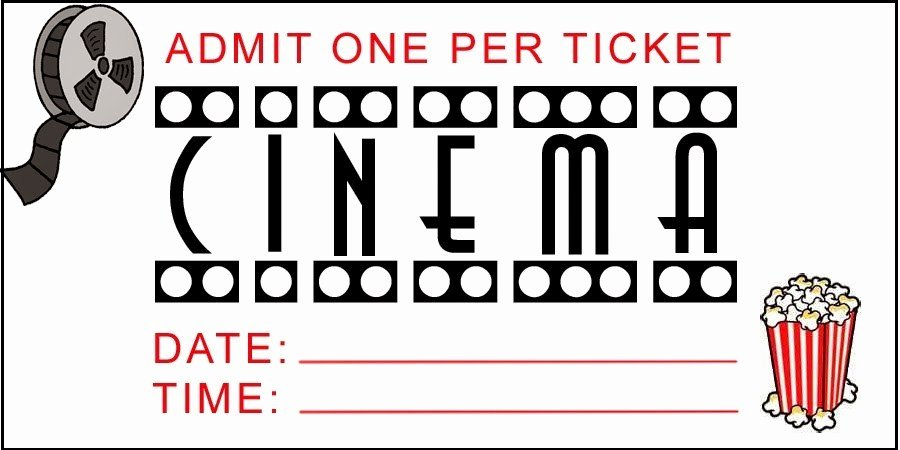Free Movie Ticket Template Elegant Printable Movie Tickets Free Download the Best Home