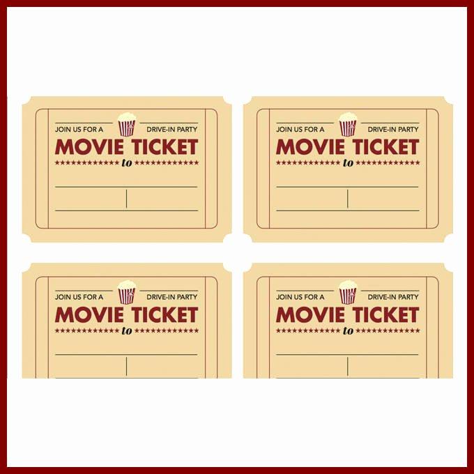 Free Movie Ticket Template Elegant Ticketmovie Driverlayer Search Engine