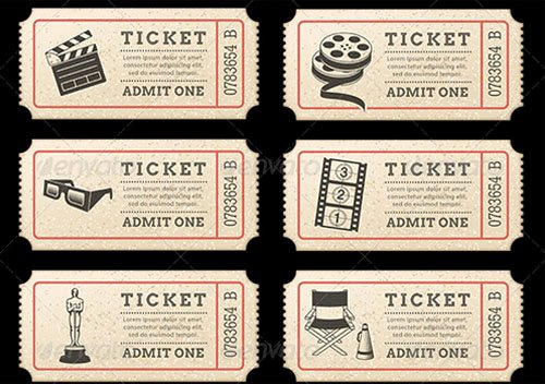 Free Movie Ticket Template Inspirational 36 Printable Movie Ticket Templates Free Psd Pdf Excel